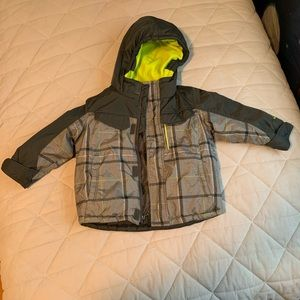 Size 2T zero exposure winter coat boys